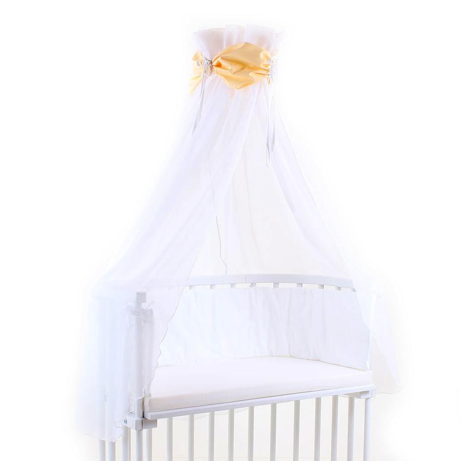 TOBI BABYBAY Stoffa Baldacchino marrone/bianco