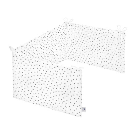 JULIUS ZÖLLNER Nest piccolo Comfort Dots grigio 180 x 35 cm