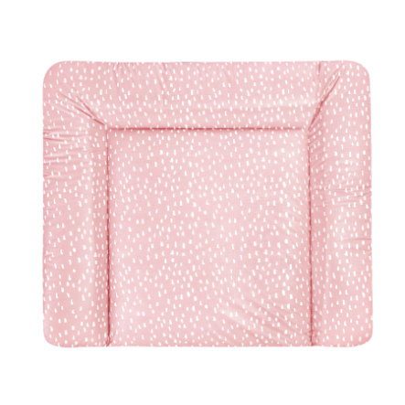 JULIUS ZÖLLNER Wickelauflage Softy Folie Tiny Squares Blush 85 x 75 cm