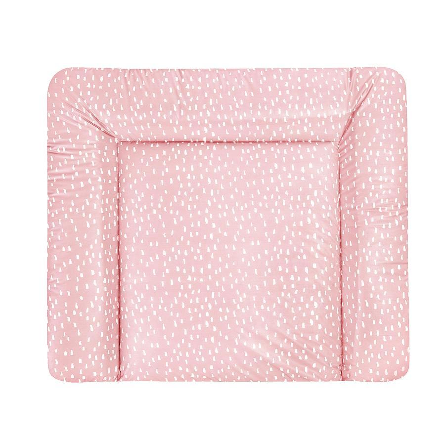 JULIUS ZÖLLNER Aankleedkussen Softy Folie Tiny Squares Blush 75 x 80 cm