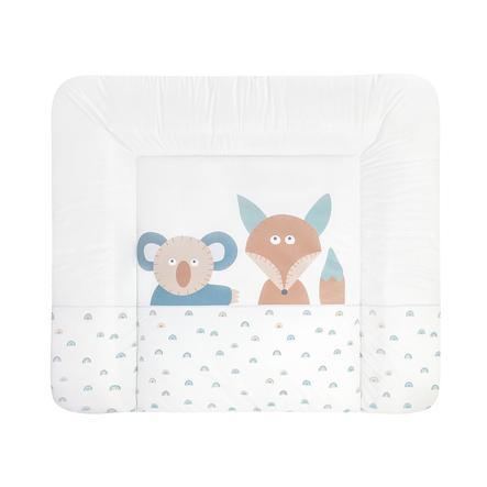 JULIUS ZÖLLNER Aankleedkussen Softy Folie Fox & Koala 75 x 85 cm