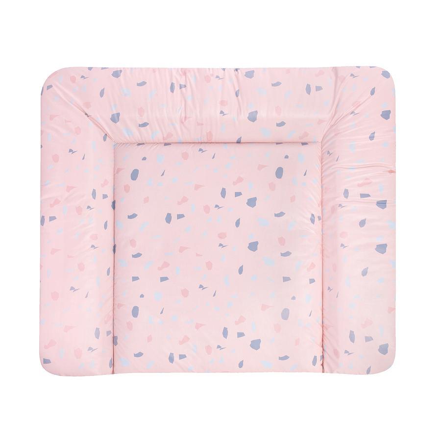 JULIUS ZÖLLNER měnící se rohož Softy Terrazzo Blush fólie 75 x 85 cm
