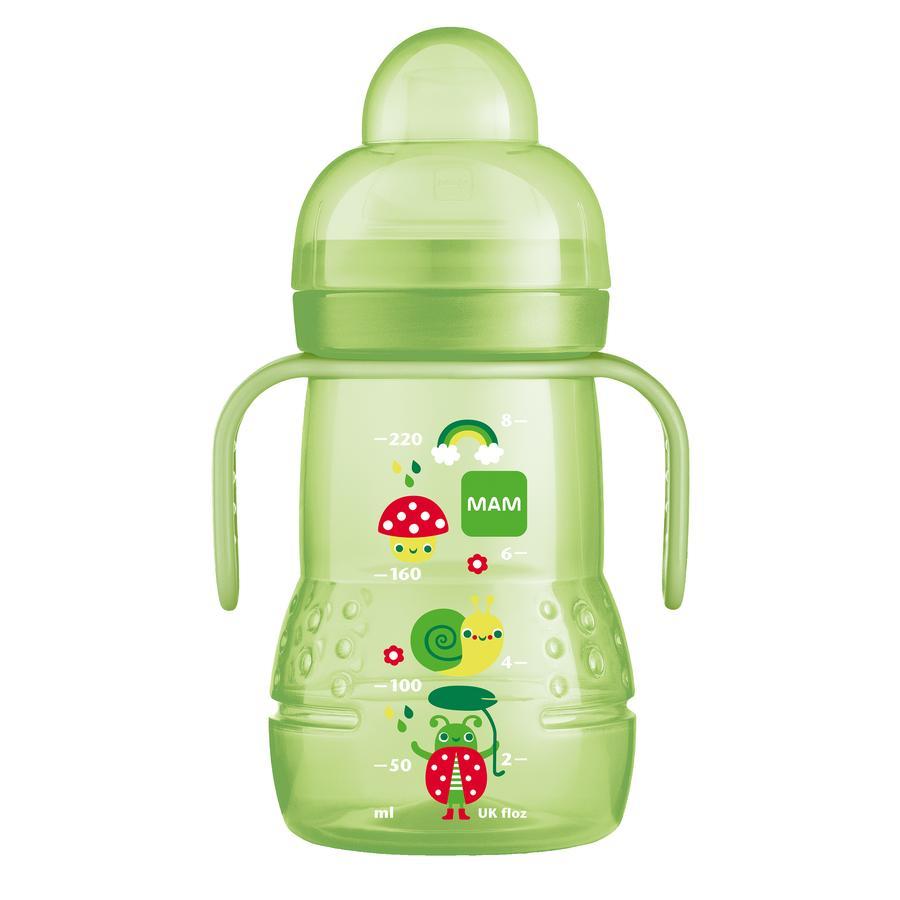 MAM Trinklernflasche Trainer+ grün 220 ml