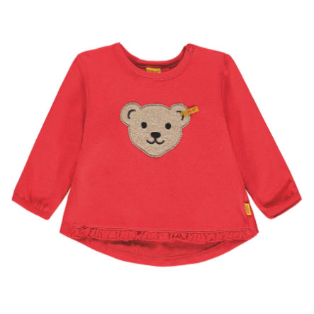 Steiff Girls Sweatshirt, hibiscus