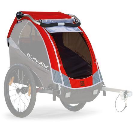 BURLEY cubierta para remolque de bicicleta  Solo™ rojo