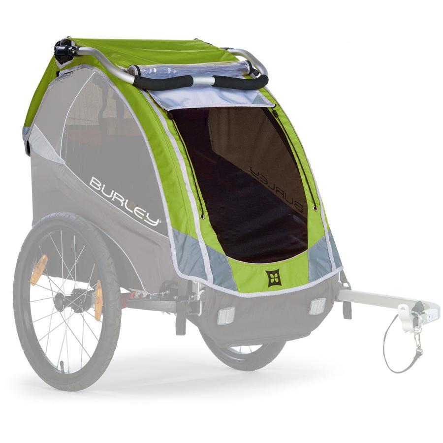 BURLEY cubierta para remolque de bicicleta  Solo™ verde