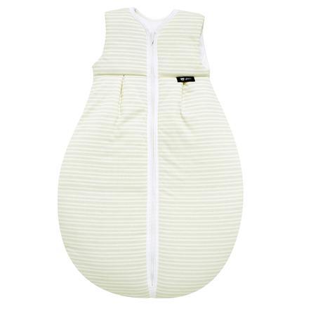 Alvi Śpiworek całoroczny Jersey Thermo Paski szary 70 - 110 cm