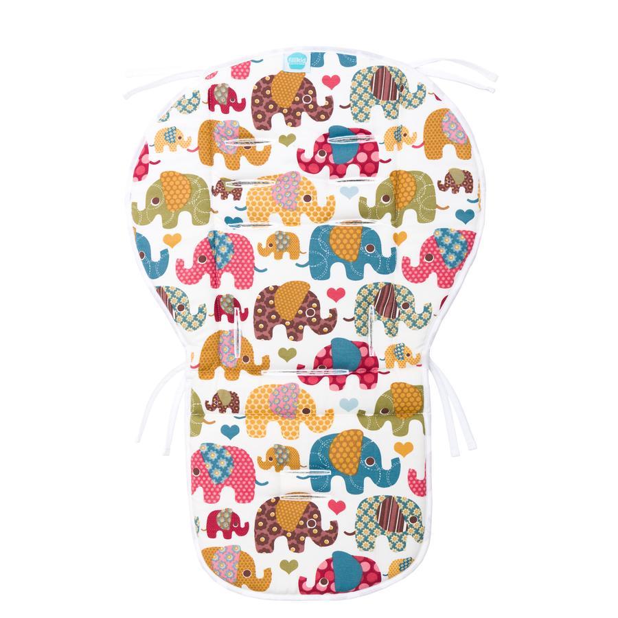 fillikid Oboustranná vložka Mia Lux froté elefant