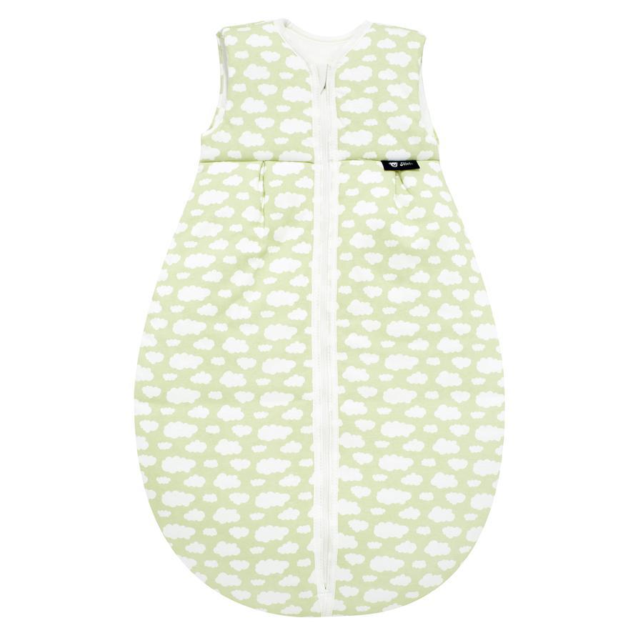 Alvi Jersey Ganzjahresschlafsack Wolke grün 70 - 110 cm