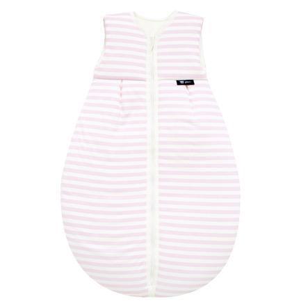 Alvi Jersey Ganzjahresschlafsack Streifen rosa 70 - 110 cm