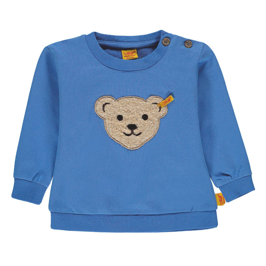 Steiff Boys Sweatshirt, lichtblauw