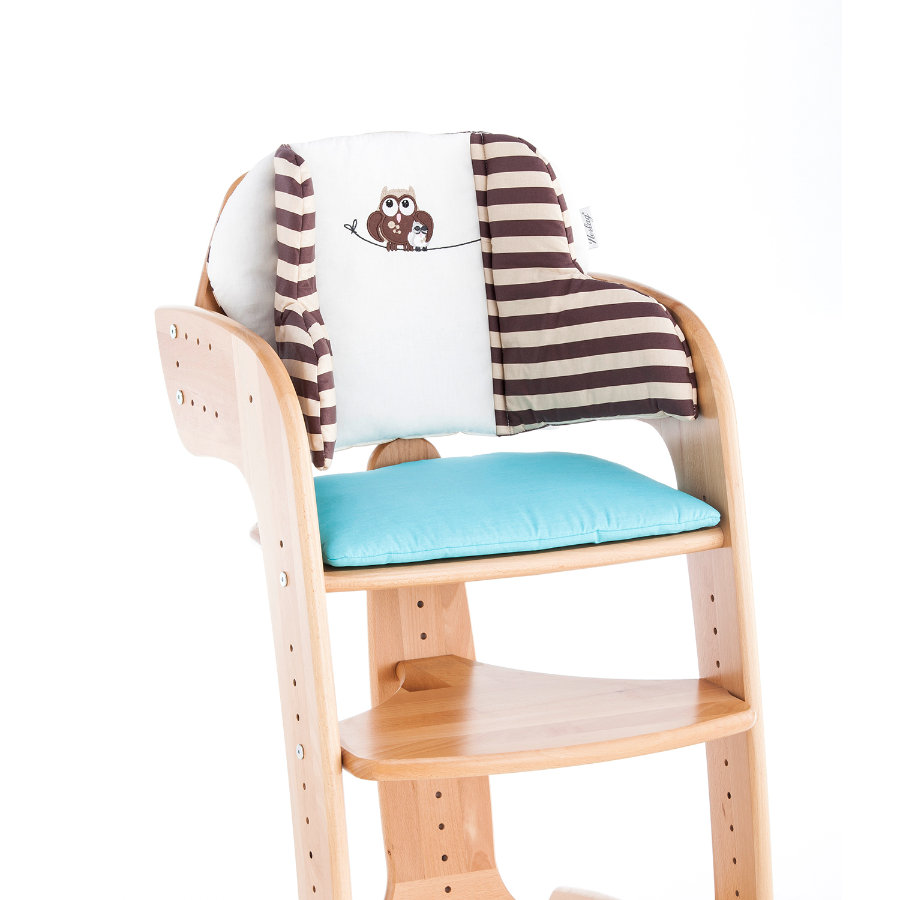 "HERLAG Seat Pad Tipp Topp Comfort IV ""Owl"" Beige/Blue"