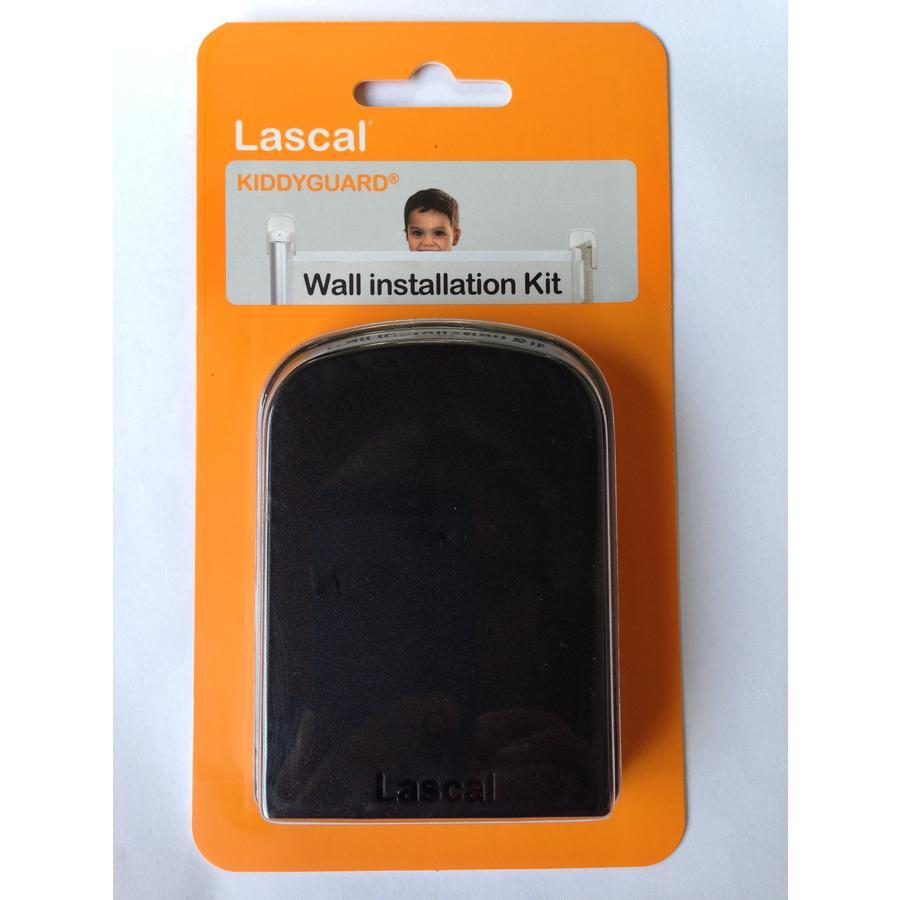 Lascal WIK - úchyt k montáži zábrany na zeď s podlah.lištou - černá