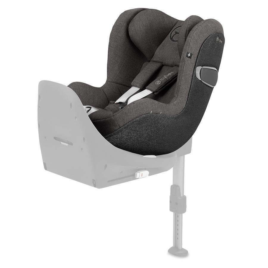cybex PLATINUM Kindersitz Sirona Z i-Size Plus Manhattan Grey-mid grey