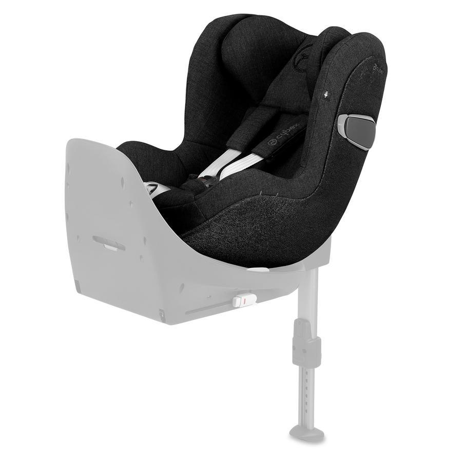 cybex PLATINUM Kindersitz Sirona Z i-Size Plus Stardust Black-black