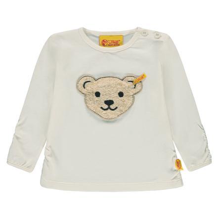 Steiff Girl Shirt met lange mouwen, wit
