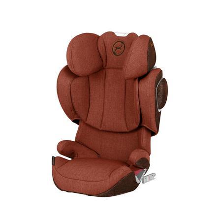 cybex PLATINUM Kindersitz Solution Z-fix plus Autumn Gold-burnt red