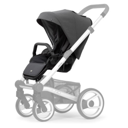 mutsy Pack siège et canopy poussette Nio Inspire pearl grey