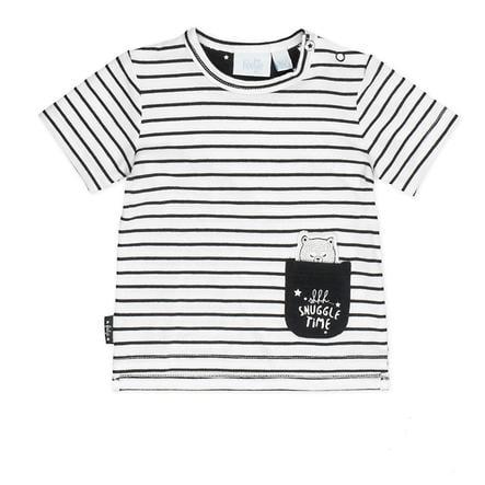 Feetje tyttöjen T-paita Ringel Valmistettu rakkaudenvalkoisella