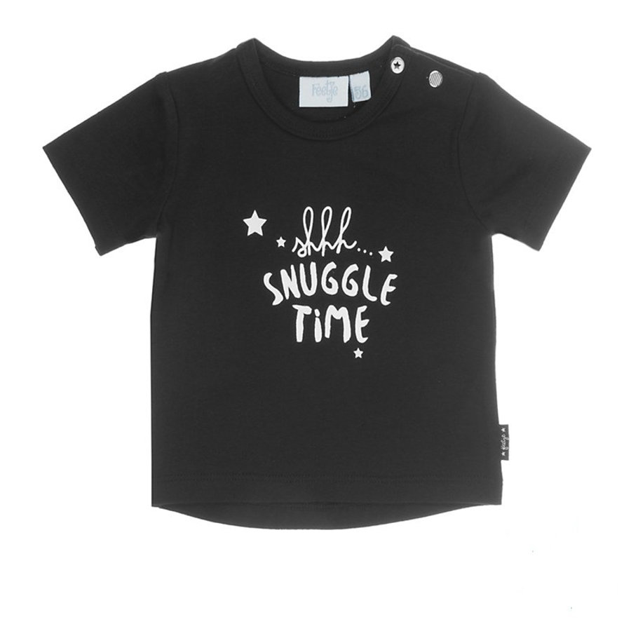 Feetje T-Shirt Snuggle Time Made with love schwarz