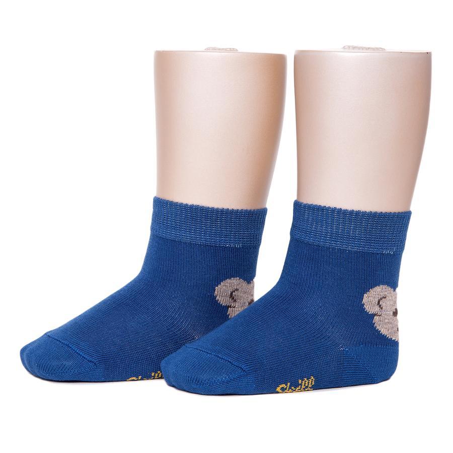 Steiff Chaussettes Bärli, bleu
