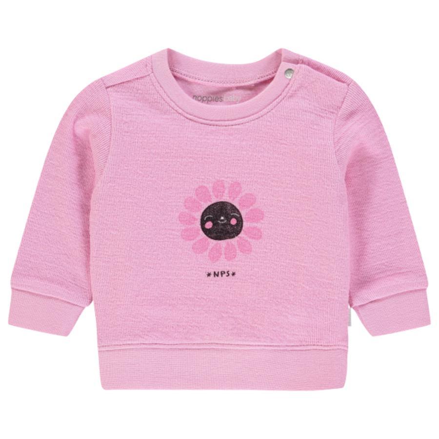 noppies Bluza bluza Pecos Różowa mgiełka