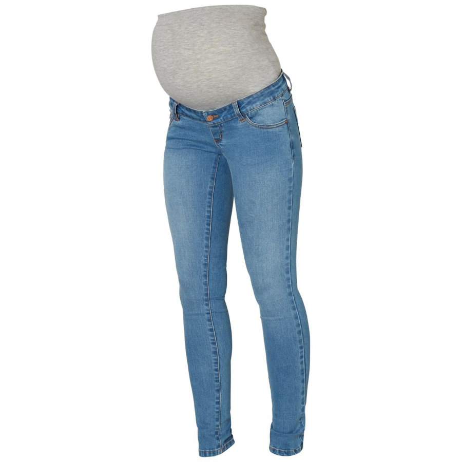 mama licious Umstandsjeans MLLOLA light blue denim