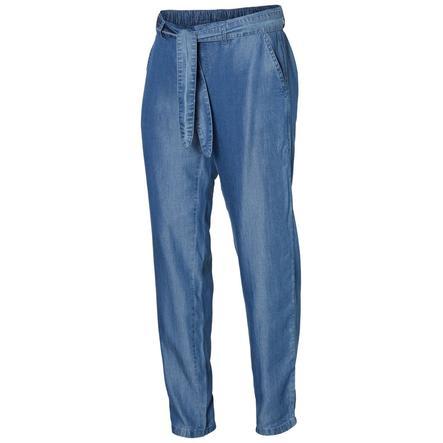 mama licious Pantalon de maternité MLLYDIA denim bleu clair