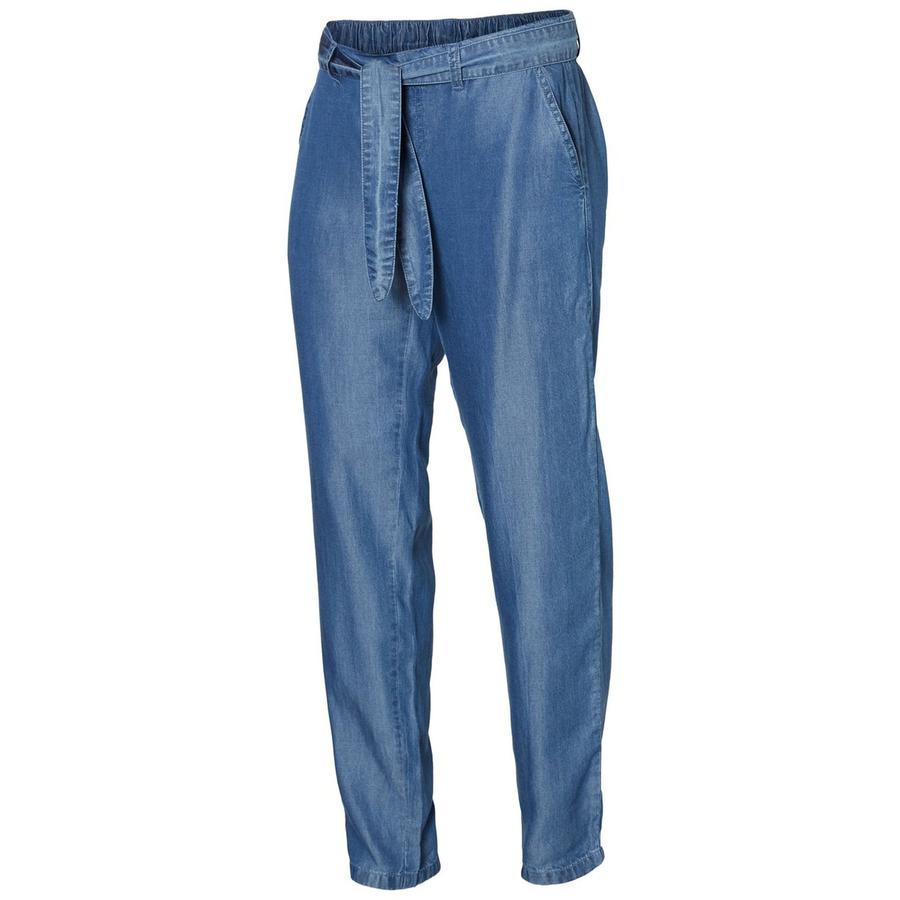 mama licious Pantaloni premaman MLLYDIA light blue denim