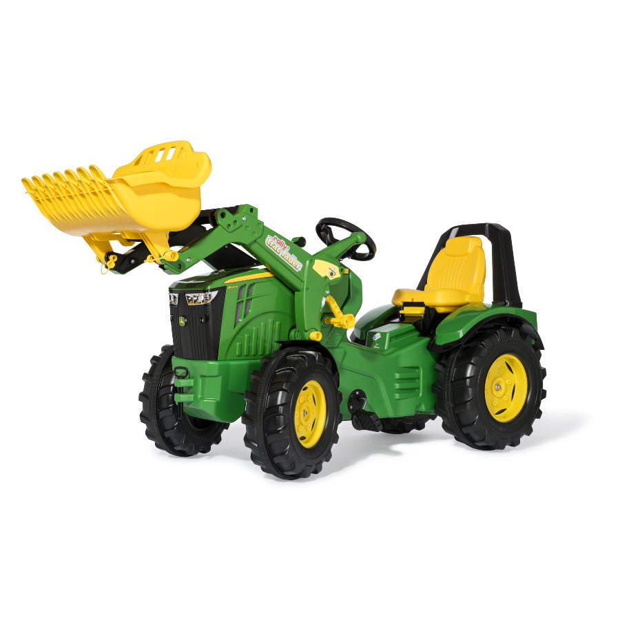 giocattoli rolly® John Deere 8400R con caricatore frontale
