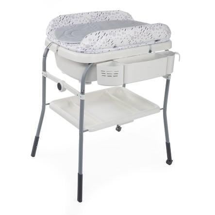 chicco Bagnetto con fasciatoio Cuddle & Bubble Comfort cool grey