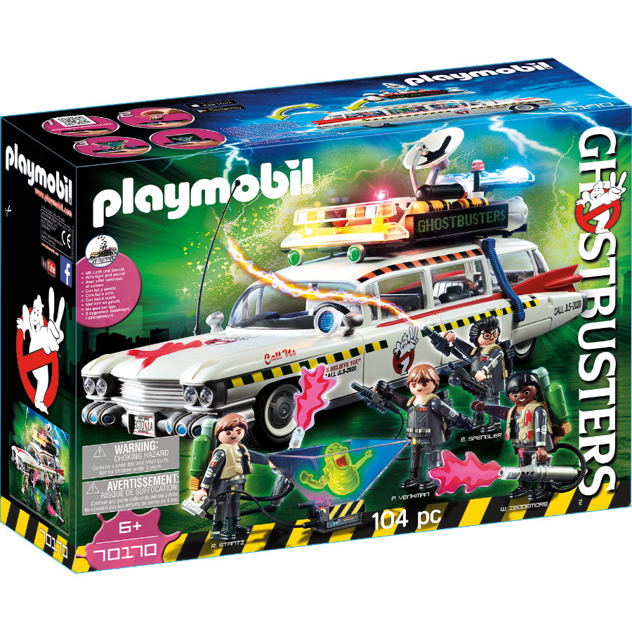 PLAYMOBIL® GHOSTBUSTERS™ Ecto-1 70170