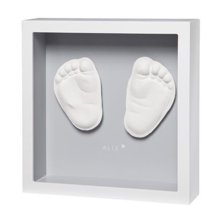Baby Art 3D-Aftryk My little Steps - Sculpture Frame Grå