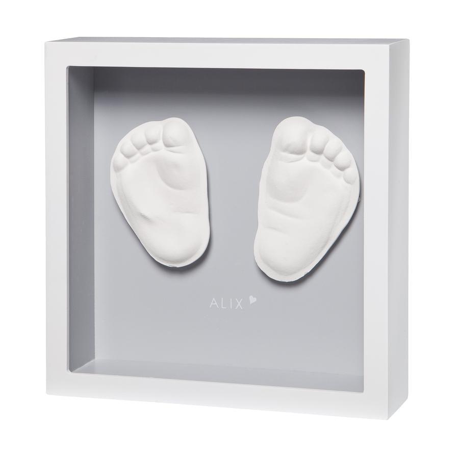 Baby Art 3D-Abdruck My little Steps - Sculpture frame, grey