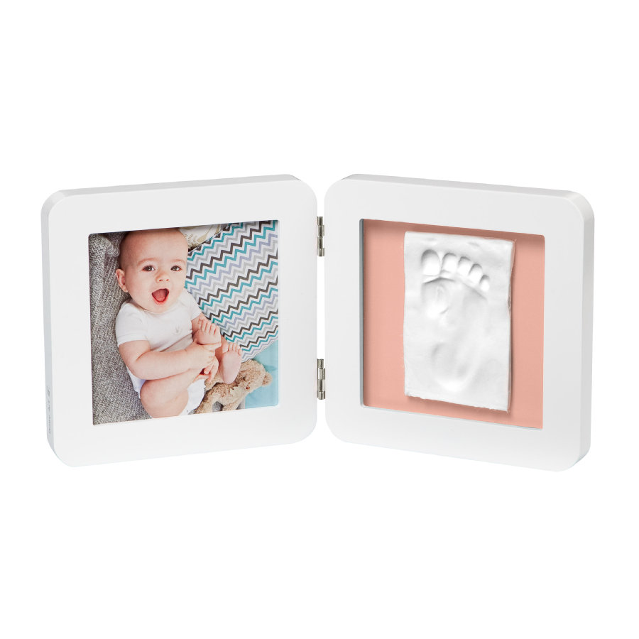 Baby Art Cadre photo avec impression - My Baby Touch Simple Print Frame White essentials