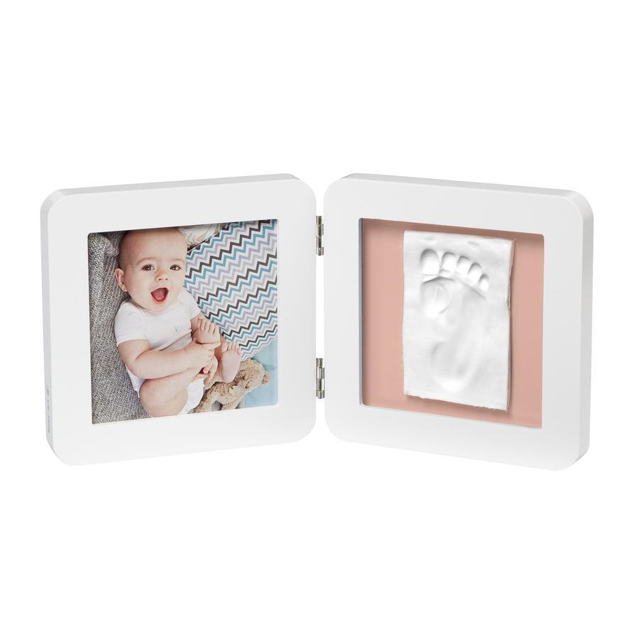 Baby Art Ramka na obrazek z nadrukiem - Mój Baby Touch Simple Print  Frame White essentials