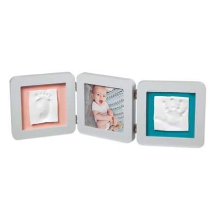 Baby Art Cornice foto con calco - My Baby Touch Double Print Frame Pastel essentials