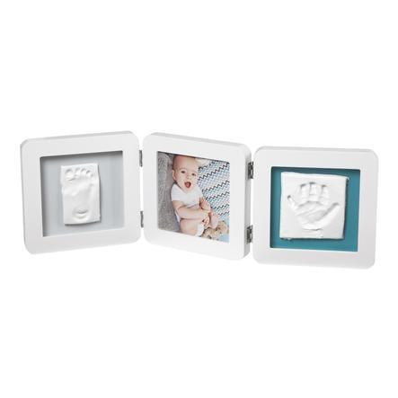 Baby Art Bilderrahmen mit Abdruck - My Baby Touch Double Print Frame White essentials