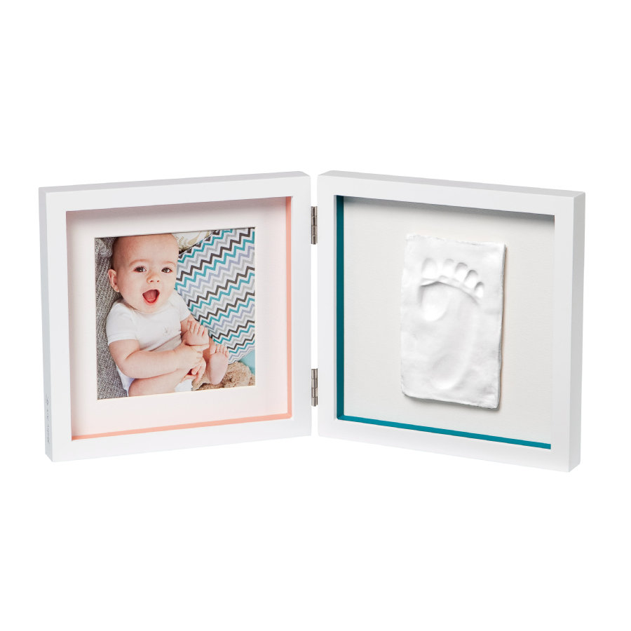 Baby Art Cornice foto con calco - My Baby Style Simple Print Frame White essentials