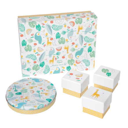 Baby Art Gipsabdruck Set - My Baby Gift Box Mr. & Mrs. Clynk - Limited Edition