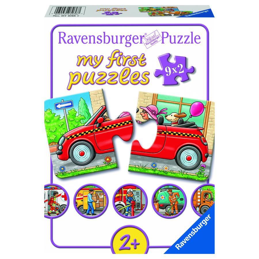Ravensburger Mitt første puslespill - Alle slags kjøretøy