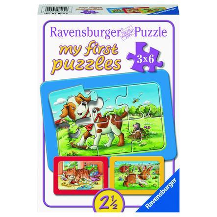 Ravensburger My first puzzle - Søde bondegårdsdyr