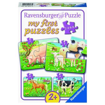 Ravensburger Mitt første puslespill - Våre favorittdyr