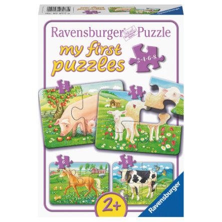 Ravensburger My first puzzle - Naše oblíbená zvířata