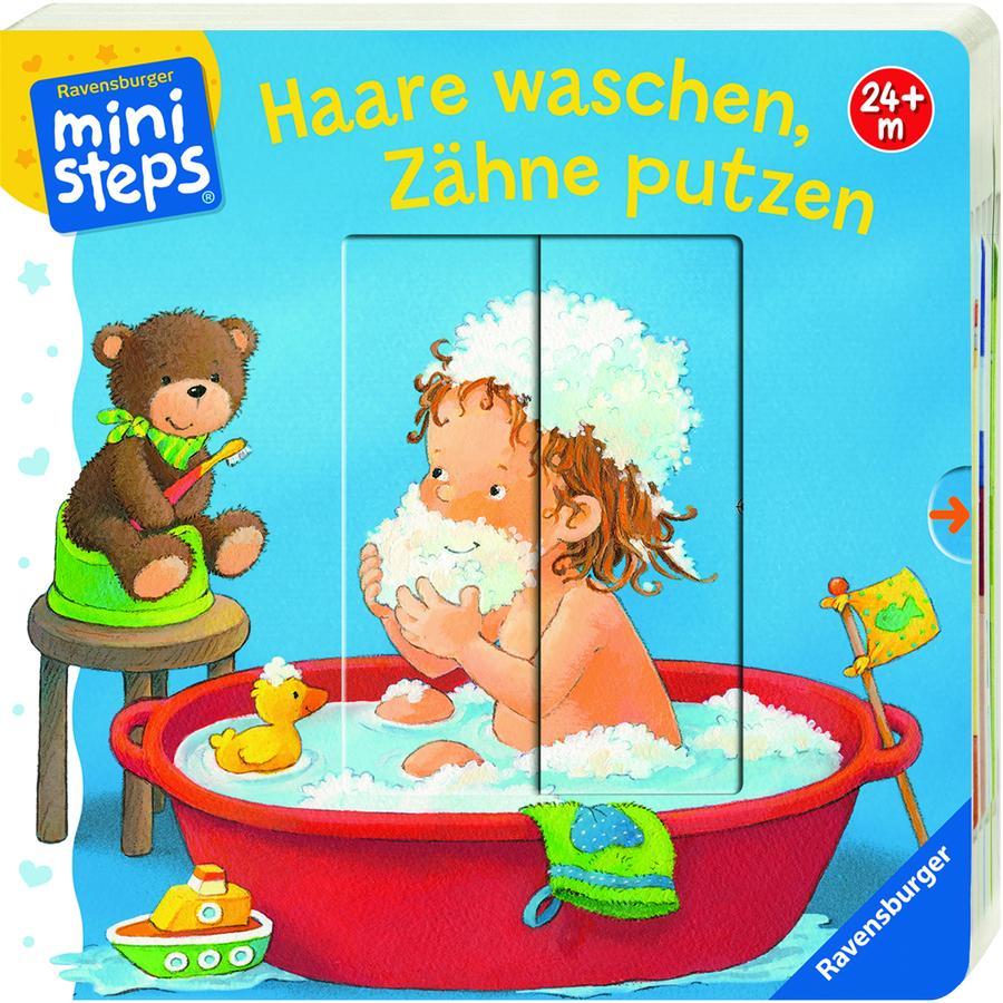 Ravensburger ministeps® Haare waschen, Zähne putzen