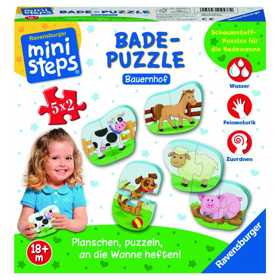 Ravensburger ministeps® Badepuzzle Bauernhof