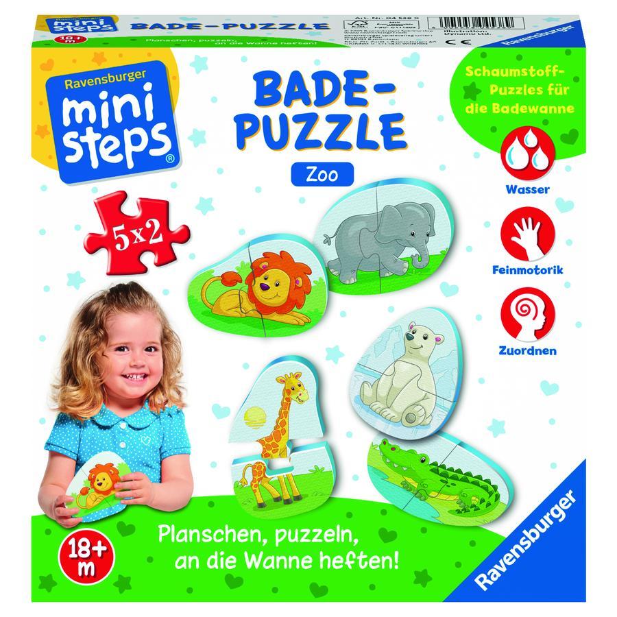 Ravensburger ministeps® Badepuzzle Zoo