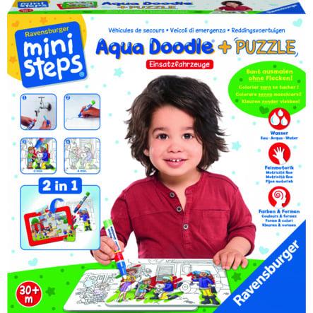 Ravensburger minis teps® Aqua Doodle ® Puzzle: Vehículos de emergencia