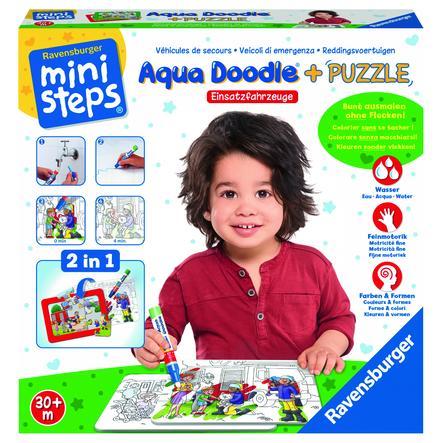 Ravensburger minis teps® Aqua® Puzzle: veicoli di emergenza