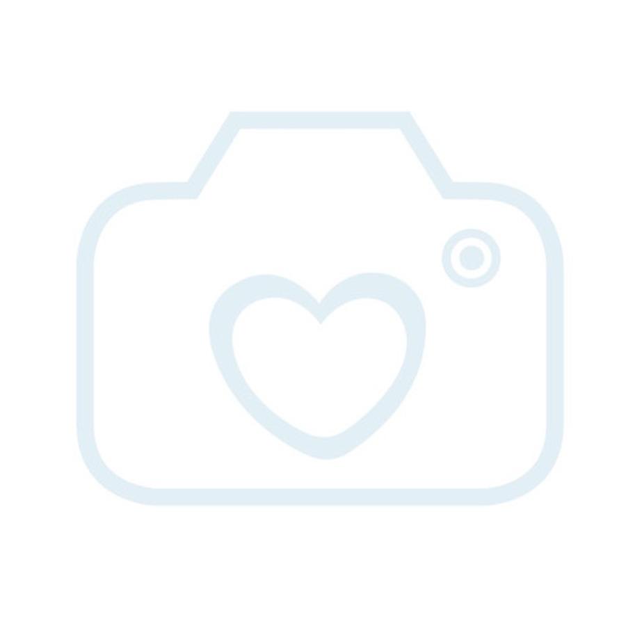 LULANDO přebalovací podložka se 2 potahy pruhy béžové hvězdičky 76 x 76 cm